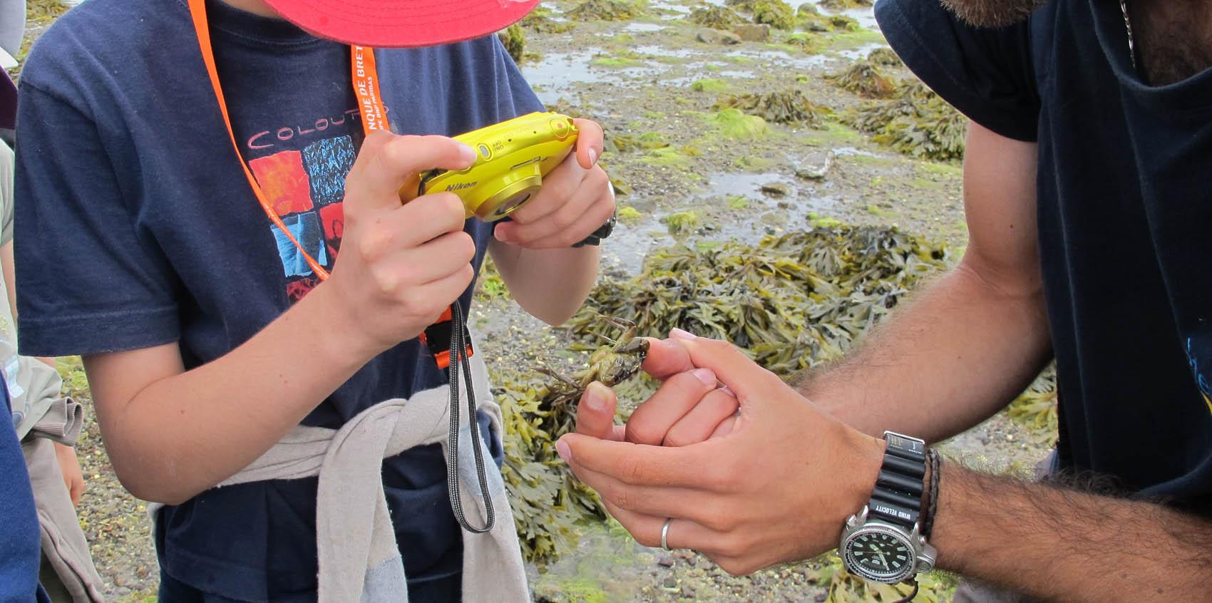 BJR Atl enfant photo crabe